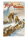 Captain Robert Falcon Scott - Fry's Cocoa Advert Giclee Print