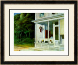 Seven A.M. Print by Edward Hopper