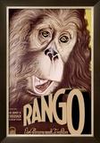 Rango Framed Giclee Print by  Schulz-Neudamm