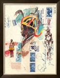 African Costumes Print by Marc Lacaze