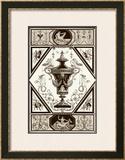 Sepia Pergolesi Urn I Poster by Michel Pergolesi