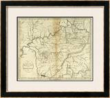 State of Kentucky, c.1796 Framed Giclee Print by John Reid