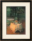 Der Kleine Gedeckte Tisch Poster by Henri Le Sidaner