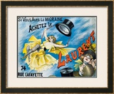 Laurent Framed Giclee Print