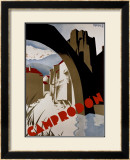 Camprodon Framed Giclee Print by  Morell
