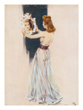 Evening Dress Giclee Print by David Wright