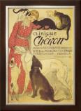 Clinique Cheron, c.1905 Prints by Théophile Alexandre Steinlen