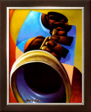 Mo' Trumpet Art by Maurice Evans