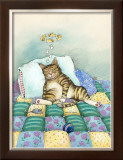 Cat Nap Framed Giclee Print by Gary Patterson
