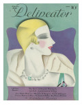 Delineator Cover January 1929 Giclee Print