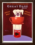 Great Dane Brand Limited Edition Framed Print by Ken Bailey