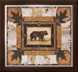 Bear Print by Pamela Gladding