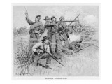 Confederates Fight On Giclee Print