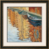 Venice, Facade Reflections Limited Edition Framed Print by Alan Cotton
