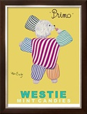 Westie Mints Limited Edition Framed Print by Ken Bailey