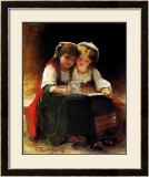 An Interesting Story Prints by Léon Jean Basile Perrault