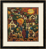 PAINTING BY NUMBERS Limited Edition Framed Print by CHARLES MONTEITH WALKER