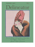 Delineator Cover January 1927 Giclee Print