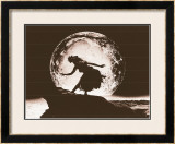 Moon Dancer, Hula Girl Poster by Alan Houghton