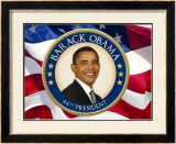 Obama: 44th President Print
