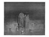 Dante in Inferno Giclee Print