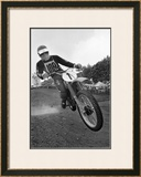 Flying Low Framed Giclee Print by Charlie Morey