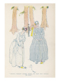 Croquet Mallets Clicked under the Elms That Fringed the Field'; Two Women Play Croquet Giclee Print