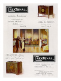 Creatonal' Gramophones for the Ballroom Giclee Print