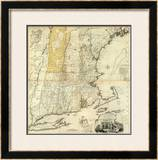 Composite: New England, c.1776 Framed Giclee Print by Thomas Jefferys