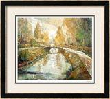 Walking in the Park Limited Edition Framed Print by Eduard Gurevich