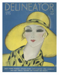 Delineator Cover August 1929 Giclee Print