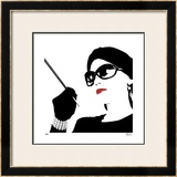 Glam I Limited Edition Framed Print by M.J. Lew