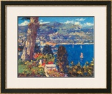 Cote d'Azur Prints by Pierre Bittar