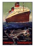 Compagnie Generale Transatlantique Giclee Print