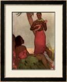 Hawaiian Night Framed Giclee Print by John Kelly