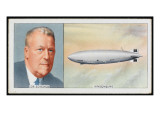 Dr Hugo Eckener German Aeronaut, Builder of Graf Zeppelin Giclee Print