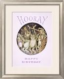 Hooray! Frog's Happy Birthday Framed Giclee Print