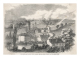 Edmund Main Colliery, Near Barnsley, Yorkshire Giclee Print