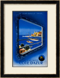 Demain Matin Cote d'Azur Prints by Roland Hugon