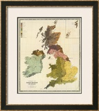 Ethnographic, Great Britain, Ireland, c.1856 Framed Giclee Print by Gustaf Kombst