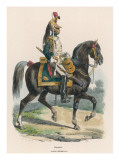 Dragoon of the Imperial Guard Giclee Print