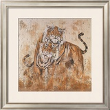 Les Tigres II Print by Carole Ivoy