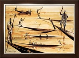 Pirogues du Niger Prints by Gildas Flahault