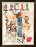 African Women Poster by Marc Lacaze