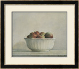 Mcintosh Apples in a White Bowl, 1981 Prints by Elsie Manville