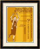 Punctuation: Sentence Stoppers Print by Christopher Rice