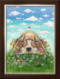 Lazy Day Afternoon Framed Giclee Print by Gary Patterson