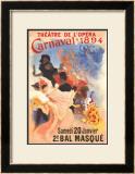 Carnivale Poster by Jules Chéret
