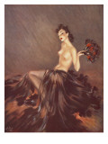 Fantasie Giclee Print by David Wright