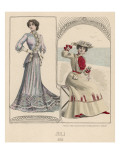 Fashionable Frocks 1902 Giclee Print by Philip Talmage